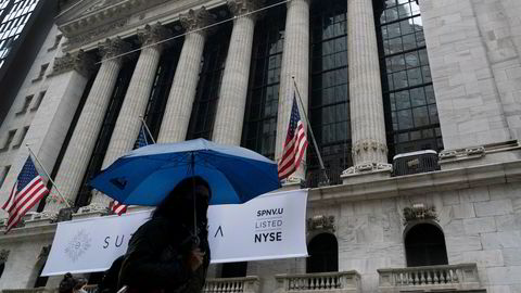 Som i Europa endte onsdagens handel på Wall Street med kraftig nedgang.
