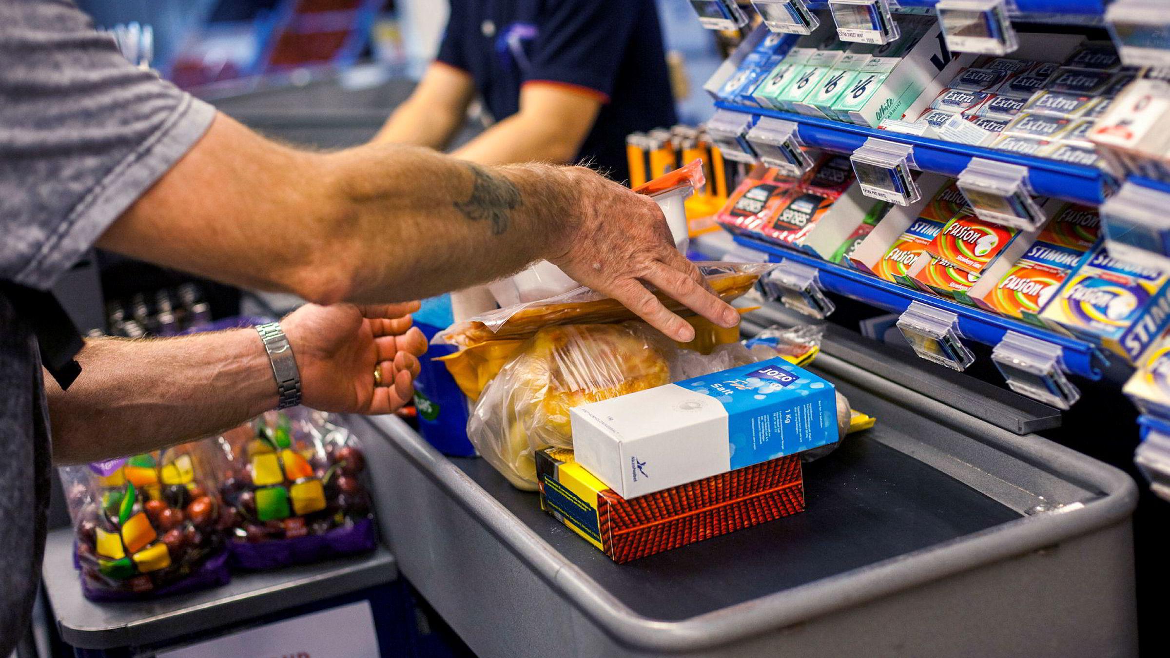 Konsumprisene steg i september.