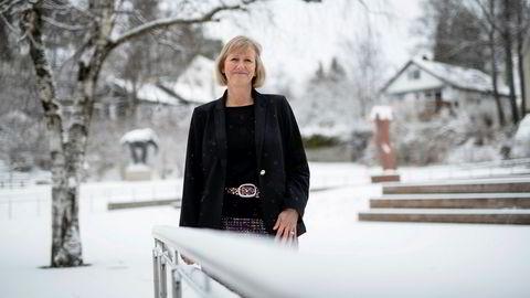 Storebrand setter ned fastrenten. Heidi Skaaret er Storebrands konserndirektør for personmarked.