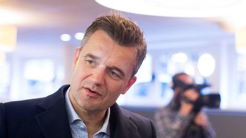 Vipps-sjef Rune Garborg.