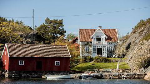 Prisantydningen på Platou-familiens landsted lå på 30 millioner kroner.