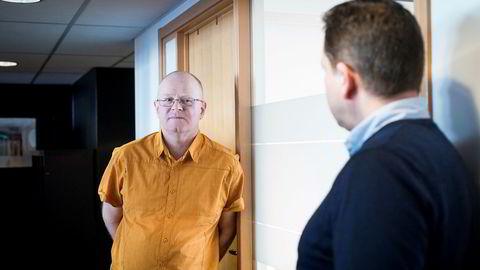 Etter å ha solgt ett selskap til Sverige, er Ola Torgrim Eide i full gang med selskap nummer to. Kraftkonsulentene i Høyspent leier kontorlokaler av Christopher Hagelund i Workhouse på Majorstuen i Oslo.