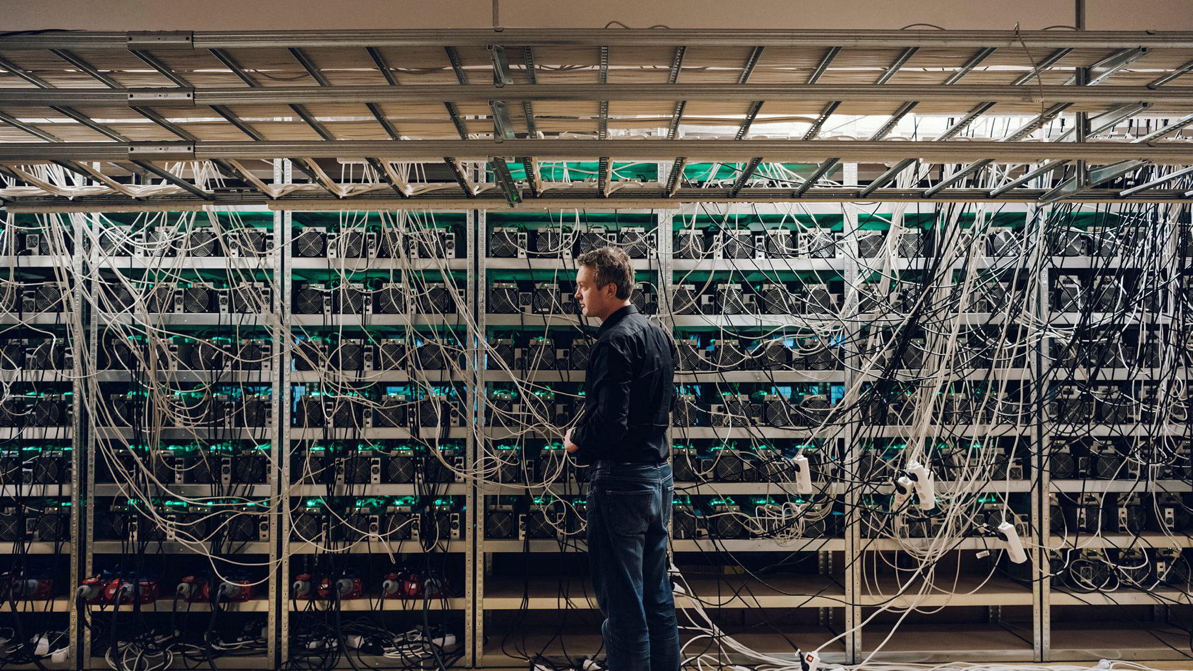 Det finnes et argument om at bitcoin vil overleve fordi blokkekjedeteknologien tilbyr transaksjoner som enkelte bransjer trenger. Her Kjetil Hove Pettersen i Kryptovault as.