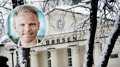 Anders Skar (innfelt) er sjef for Nordnet Norge. Nettmegleren fikk store problemer da Oslo Børs startet handelen klokken ni tirsdag.