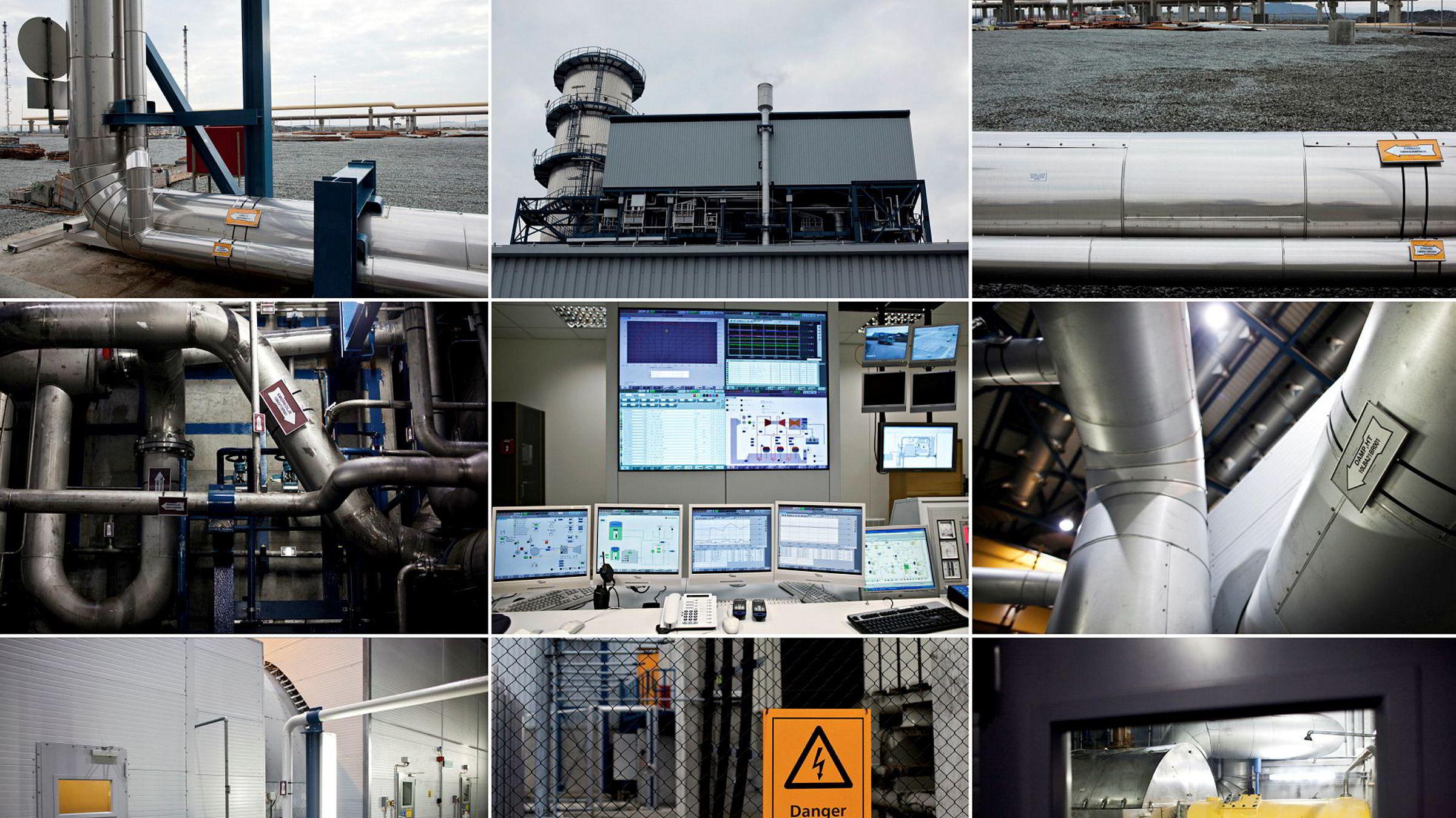 Verdens største gassrørledningssystem – Gassled – fører norsk gass til kontinentet og til Storbritannia. Gassled ble etablert i 2002 av blant andre Petoro og de fire store olje- og gasselskapene Statoil, Hydro, ExxonMobil og Total. Her Kårstø-kraftverket.