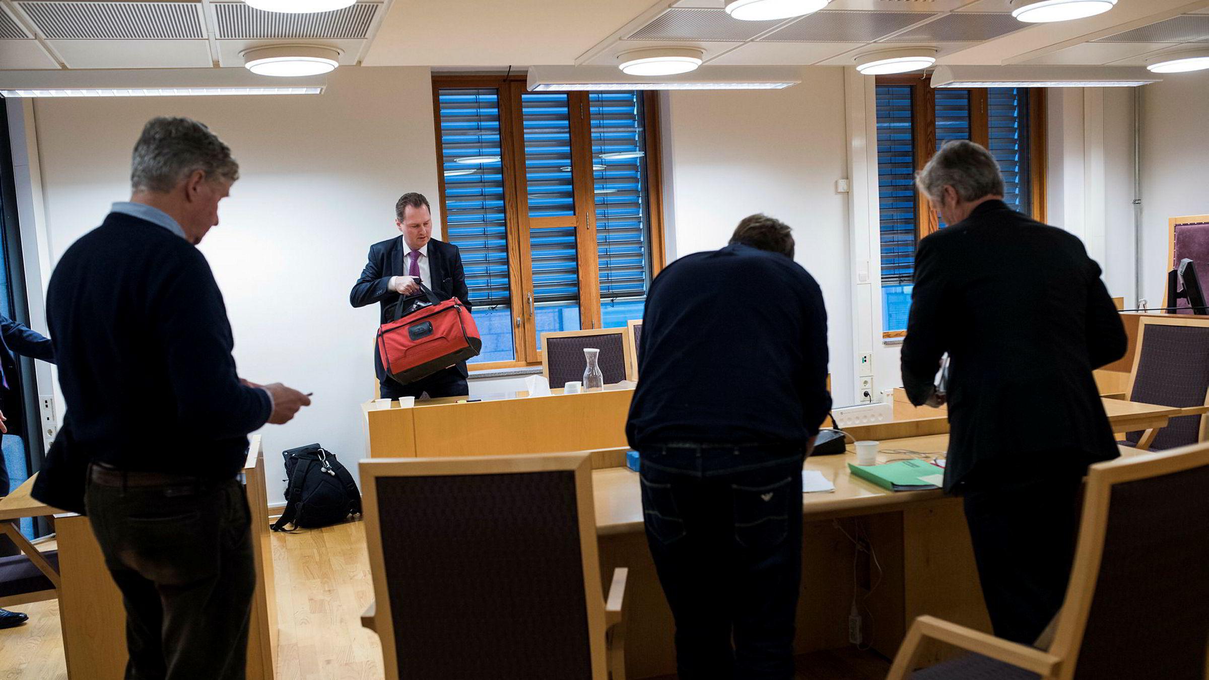 Partner Frank Jørgensen i Njord Law representerte Apple i tingretten.
