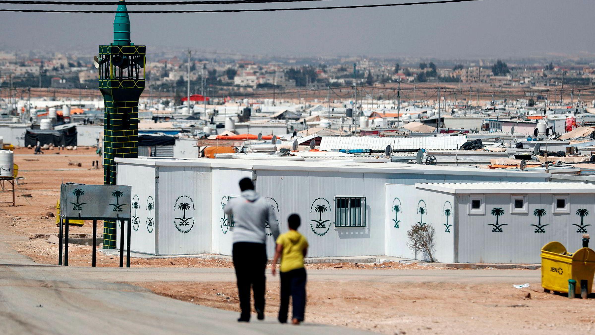 Professor Paul Collier ved Universitetet i Oxford mener hele det internasjonale flyktningregimet har spilt fallitt. Et besøk i den gigantiske flyktningleiren Zaatari (bildet) i Jordan i 2015 gjorde sterkt inntrykk på ham.