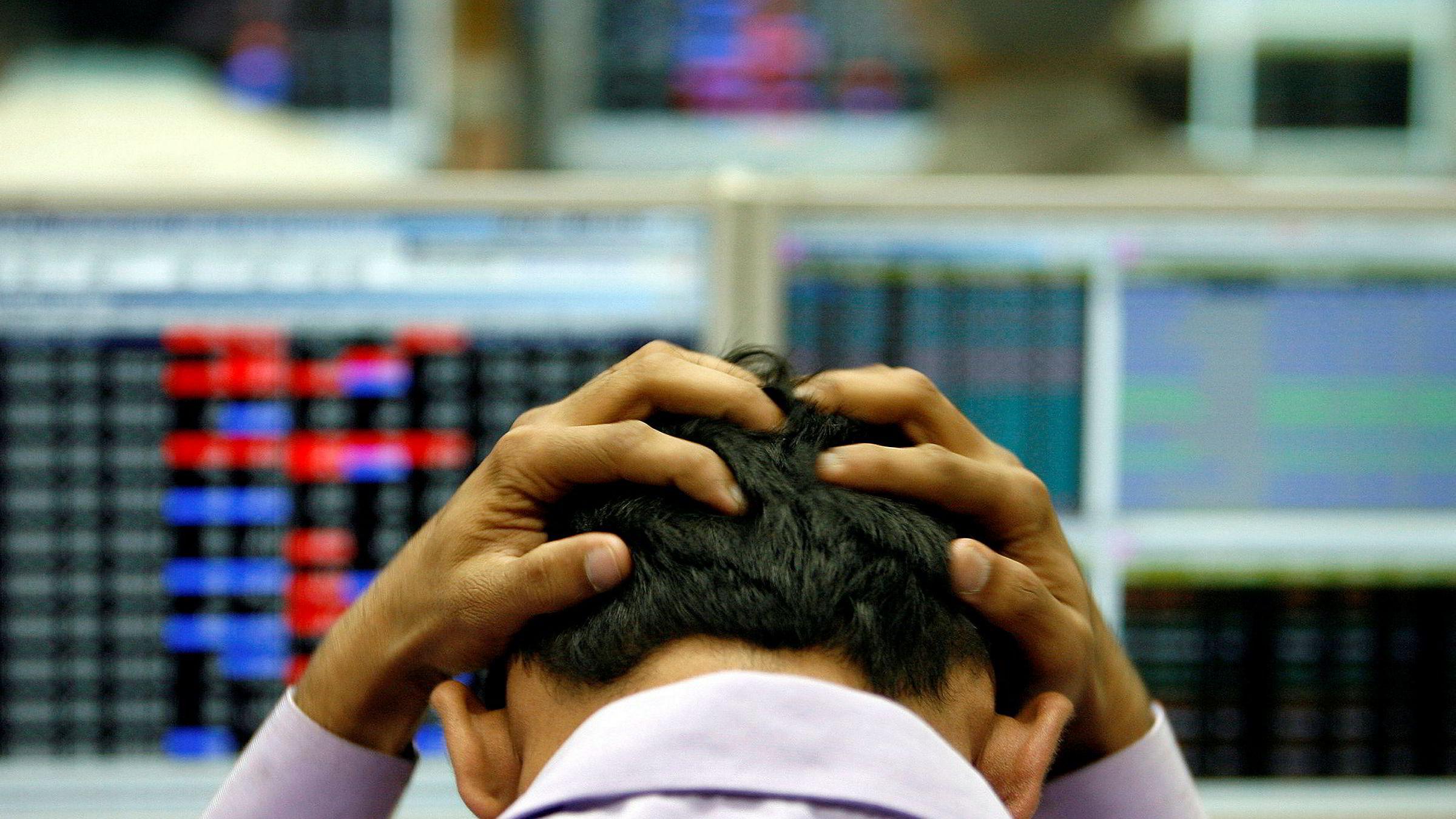 Investorene bør forberede seg for et stort sjokk, mener EQT-sjef Thomas von Koch. Illustrasjonsfoto.