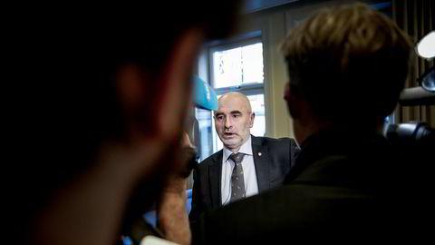Leder Dag Terje Andersen (Ap) i kontrollkomiteen avventer nye svar fra finansminister Siv Jensen om SSB-saken.