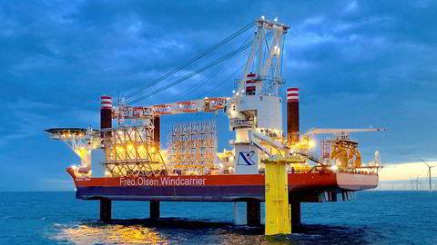 Fred. Olsen Windcarrier satser på havvind over hele verden. De har nå sikret seg kontrakt i Taiwan.