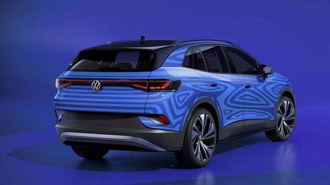 Volkswagen id. 4 skal lanseres mot slutten av 2020.