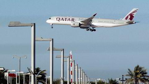 En gaselle pryder halen til Qatar Airways. Nylig har selskapet gitt mer oppmerksomhet til andre dyr.