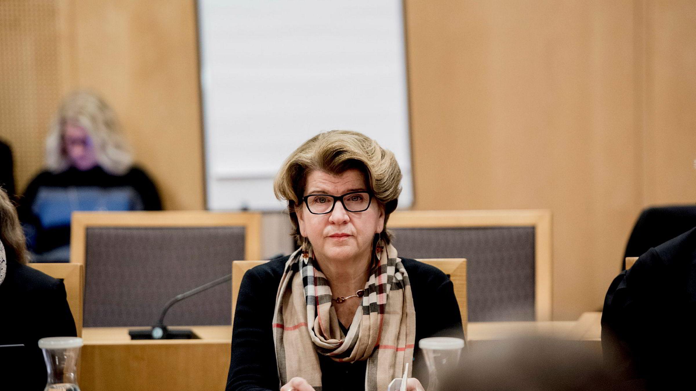 Randi Flesland, direktør i Forbrukerrådet, mener søksmålet mot DNB hører hjemme i en høyere rettsinstans.