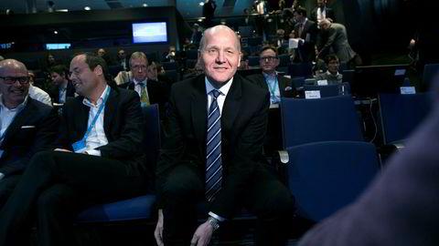 Telenor-sjef Sigve Brekke er ikke bekymret for milliardnedskrivningen av teknologiselskapet Tapad.– Her møter innovasjon regnskapspraksis, og man bør ikke lese for mye inn i det, sier han.