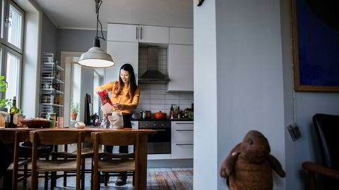 Alina Tran (36) leier jevnlig ut leiligheten sin i Gamlebyen i Oslo med to soverom på Airbnb.