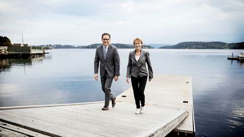 DNV GL vil ta skrittet videre, og oppretter en egen digitaliseringsdivisjon under ledelse av Elisabeth Tørstad (til høyre), som kommer fra olje- og gassdivisjonen. Toppsjef Remi Eriksen mener det er tre grunner til at digitalisering er blitt så hett akkurat nå.