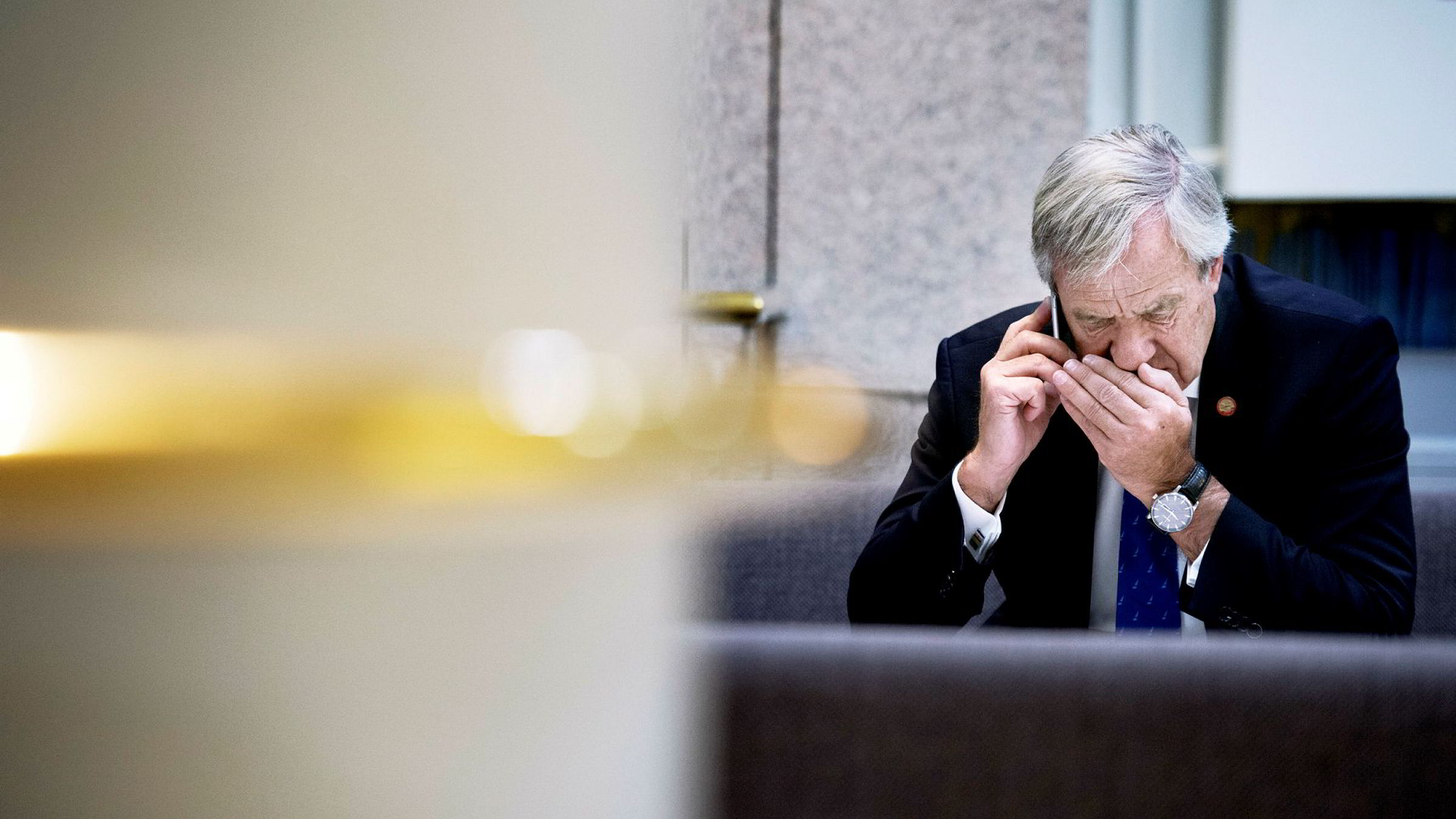 Norwegian-sjef Bjørn Kjos skal snart være klar til å motta bagasje og passasjerer fra Ryanair, ifølge The Telegraph. Norwegian mener det ikke er noe nytt at selskapet ønsker partnere til å fly sine passasjerer opp mot Norwegians langdistanseruter.