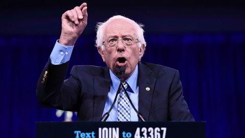 Det er sjelden at Bernie Sanders har kritisert navngitte motkandidater, men denne gangen gikk han til direkte angrep på New Yorks tidligere borgermester.