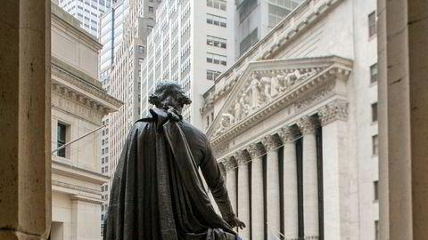 Aksjene på Wall Street falt fra start tirsdag ettermiddag, men hentet seg inn igjen ved stengetid.