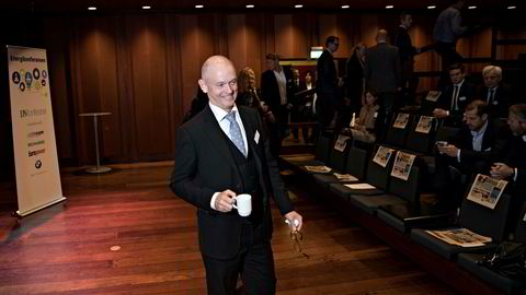 Ståle Kyllingstad er langt fra sikker på at det går oppover enda i oljebransjen. Her er han på energikonferansen til i Oslo Konserthus i oktober.