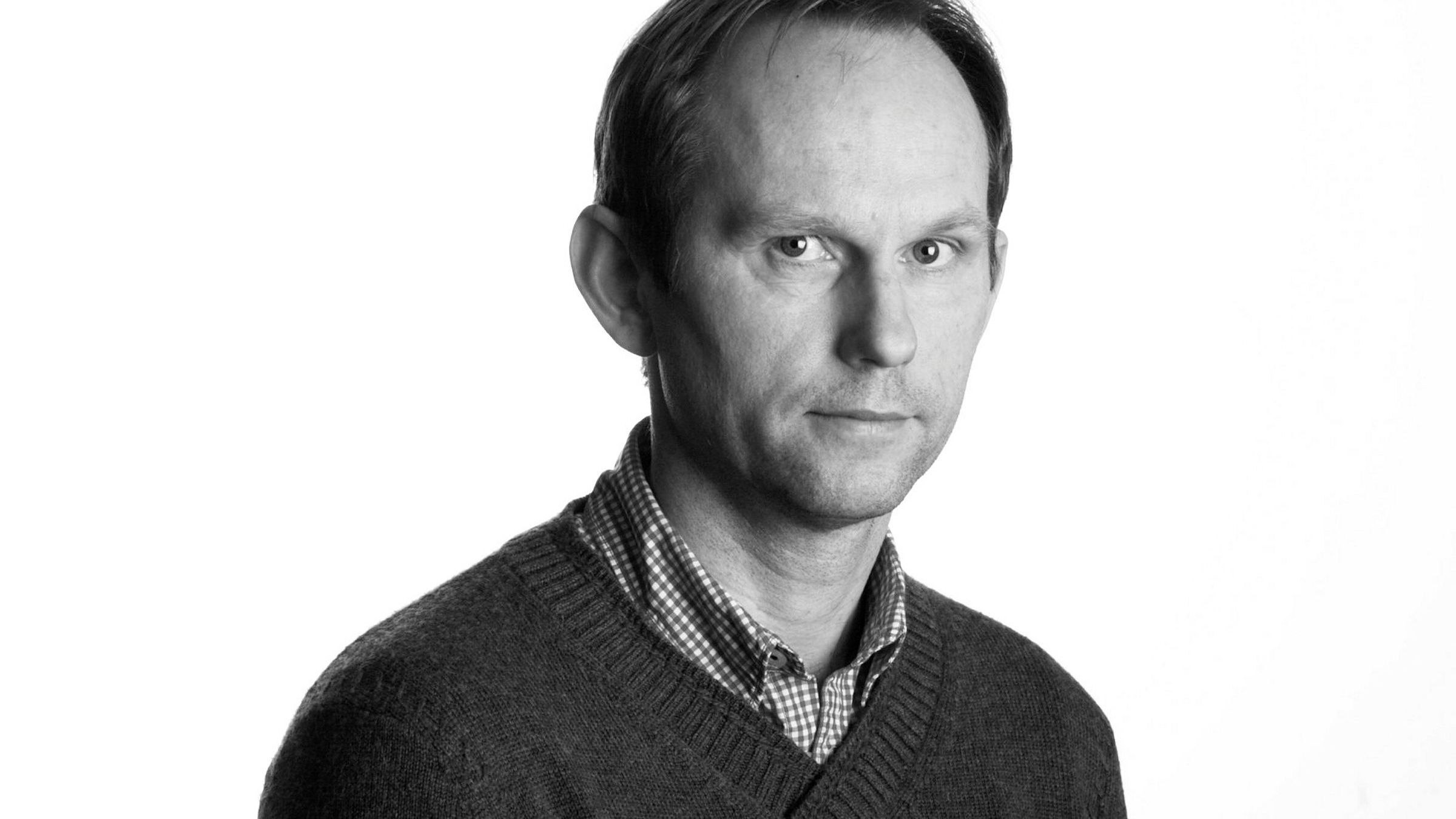 Bård Bjerkholt - Journalist i Dagens Næringsliv Byline - bylinebilde - vignett - vignettbilde - Vignettfoto - bylinefoto Foto: Mona Pedersen