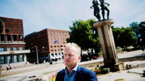 Byrådsleder Raymond Johansen presenterte i april en avtale som skulle sikre kommunen eierskap over Hafslunds strømnett og kraftproduksjon.
