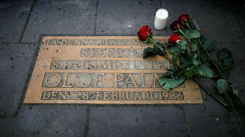 Den svenske statsministeren Olof Palme ble skutt og drept i 1986.