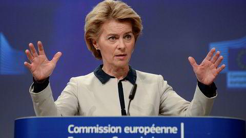 Før koronakrisen for alvor spredte seg over Europa, rakk Europakommisjonens president Ursula von der Leyen å legge frem forslag om et karbonnøytralt EU innen 2050, en industristrategi og en handlingsplan for sirkulær økonomi.