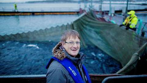 Inge Berg, eier og administrerende direktør i Nordlaks-konsernet, kan glise etter tidenes år. I fjor tjente selskapet nær fire millioner kroner hver eneste dag.