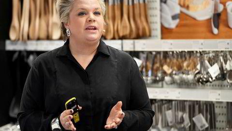 Lotta Lyrå, administrerende direktør i Clas Ohlson.
