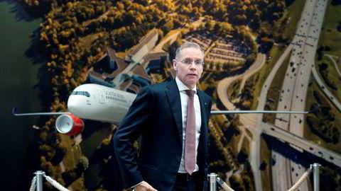 SAS-sjef Rickard Gustafson legger frem et resultat preget av koronakrisen.
