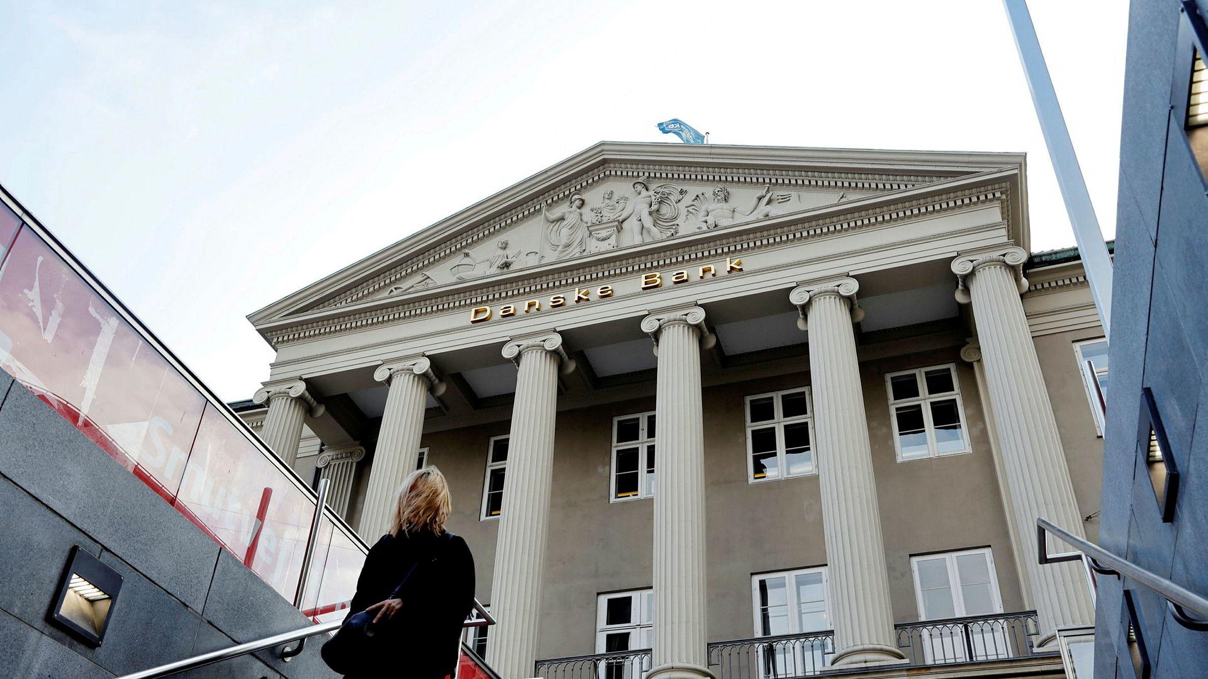 Danske Banks hovedkvarter i København. Mange av de 2000 som må slutte i banken jobber i stabsfunksjoner.