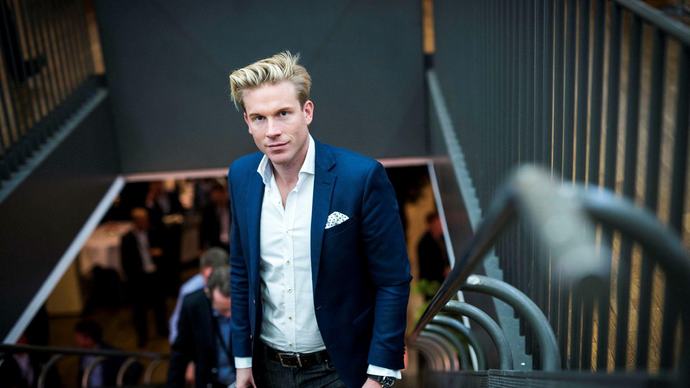 Christoffer Hernæs i blir styreleder i Quantfolio. I Skandiabanken har han tittelen «Chief Digital Officer».