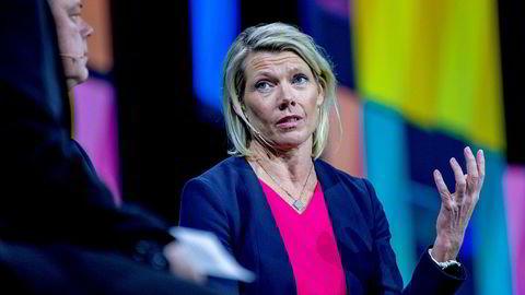 DNB-sjef Kjerstin Braathen mener risikoen ved rentefond ikke er spesielt stor, og trekker frem dette som et alternativ til innskudd.