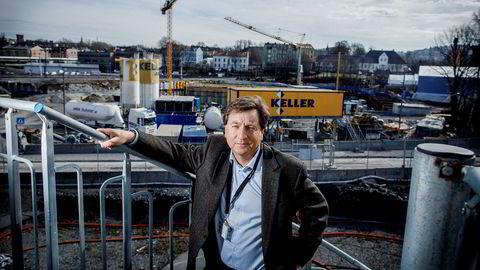 Prosjektdirektør Per David Borenstein og hans kolleger har bestemt seg for hvordan de skal erstatte den oppsagte entreprenøren Condotte på Follobanen.