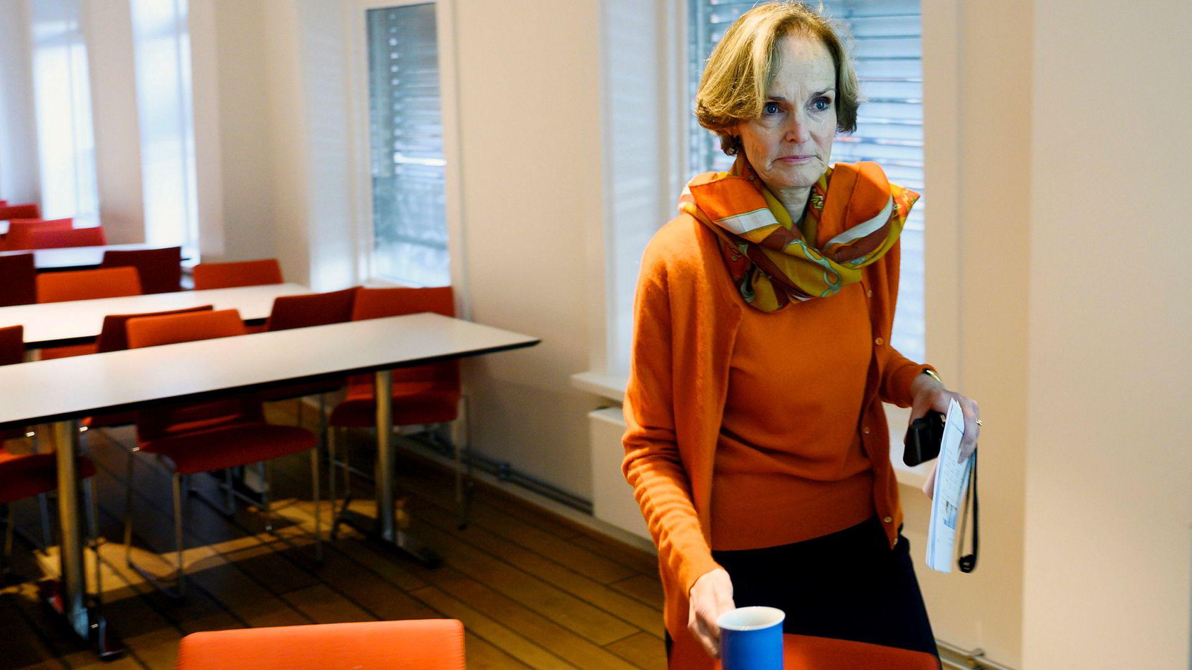Administrerende direktør Anette Olsen i Bonheur asa. Selskapet har gått på en resultatsmell, og tapte over en kvart milliard i fjerde kvartal i 2019.