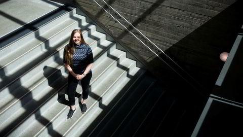 – Jo høyere snitt studentene har, jo høyere nivå blir det på utdannelsen, sier Øyvor Fossli Loddengaard (21).