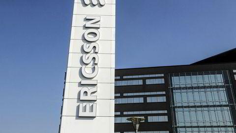 Arkivbilde. Ericssons kontor i Lund.