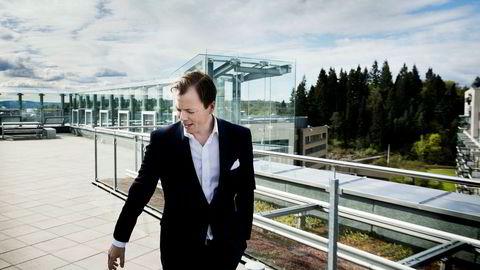 Lars Sperre fortsetter som konsernsjef for Norske Skog også etter konkursen.