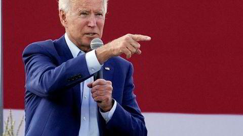 Presidentkandidat Joe Biden ber om at Amy Coney Barrett - Donald Trumps kandidat til Høyesterett - ikke blir godkjent før valget.