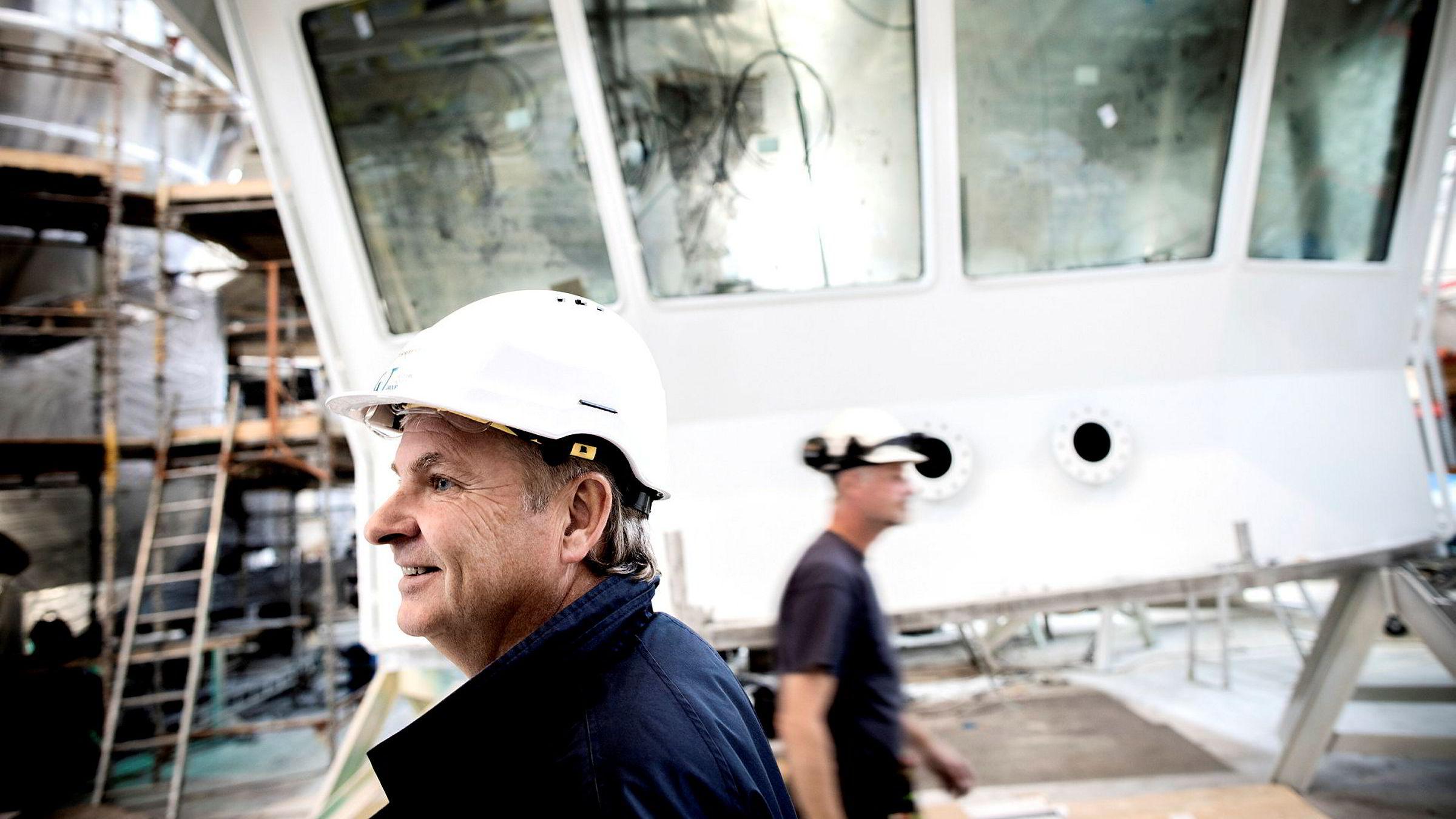 Tor Henning Ramfjords industrisatsing Global Ocean Technology har mer enn doblet ordrereserven det siste året og ansetter stadig nye folk. Særlig satsingen på moderne fiskebåter begynner nå å bære frukter.