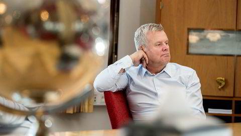 Helge Møgster er styreleder i Laco as.