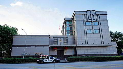 På fredag går fristen ut for at Kina må stenge konsulatet i Houston i Texas.