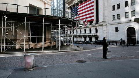 Det er rolig på Wall Street tidlig onsdag morgen. Markedene er også roligere etter rekordrallyet tirsdag.