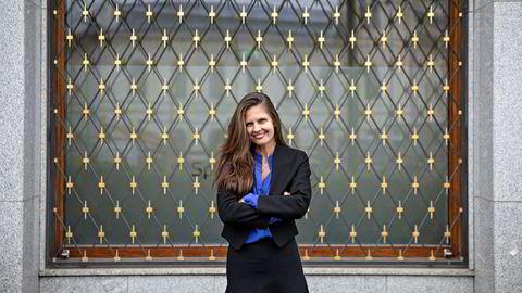 Oljeanalytiker Nadia Wiggen i Pareto Securities tror at 50 dollar fatet er grensen på hvor høyt oljeprisen kan gå i år.