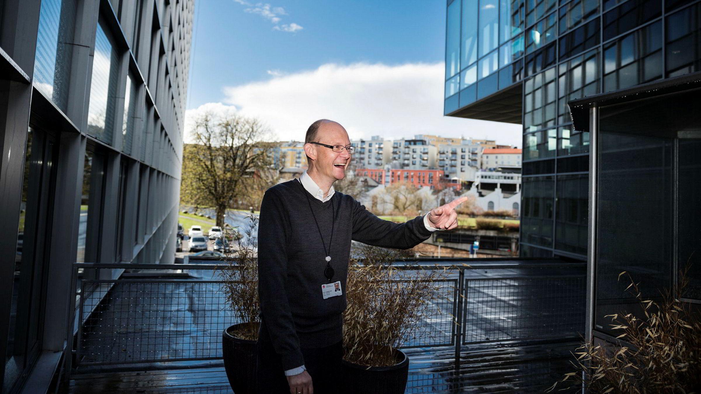 Geir Axelsen (52), økonomi- og styringsdirektør i Nav, ønsker å bli ny toppsjef i SSB.