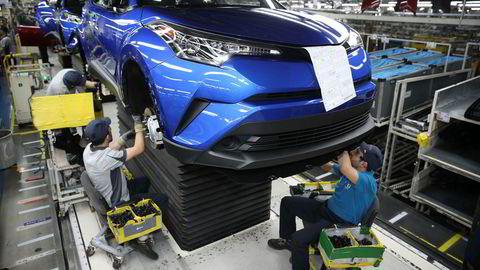 Toyota utviklet «lean production» og skapte en ny standard. Metoden ble etterhvert formidlet av konsulentselskaper – «men da var det ikke lengre attraktivt å bruke «lean» som strategi. Nettopp fordi den var blitt et universalkrav. Som digitalteknologi blir på stadig flere områder», skriver innleggsforfatteren. Bildet er fra en Toyota-fabrikk i Sakarya i Tyrkia.
