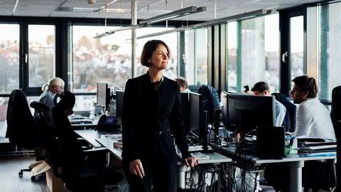 Investeringsdirektør Alexandra Morris i Skagenfondene ser en økt etterspørsel etter «grønne» aksjer, men er usikker på om trenden kommer til å fortsette.