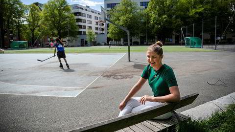 Førstegangskjøper Martine Mørk Hjelseth (24) leter etter leilighet, men uroer seg over arbeidsmarkedet fremover ettersom hun snart skal ut å søke jobb med sin ferske bachelor i markedsføring.