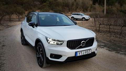 Volvo solgte rekordmange biler i 2019. Toppmodellene inkluderer XC40-seriene.